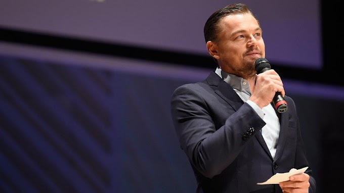 Leonardo DiCaprio says climate change is a big issue for young people