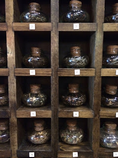 Townshend's tea samples