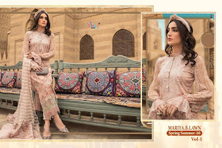 Shree Fab Mariya B Lawn Spring Summer 20 Vol 1 Collection
