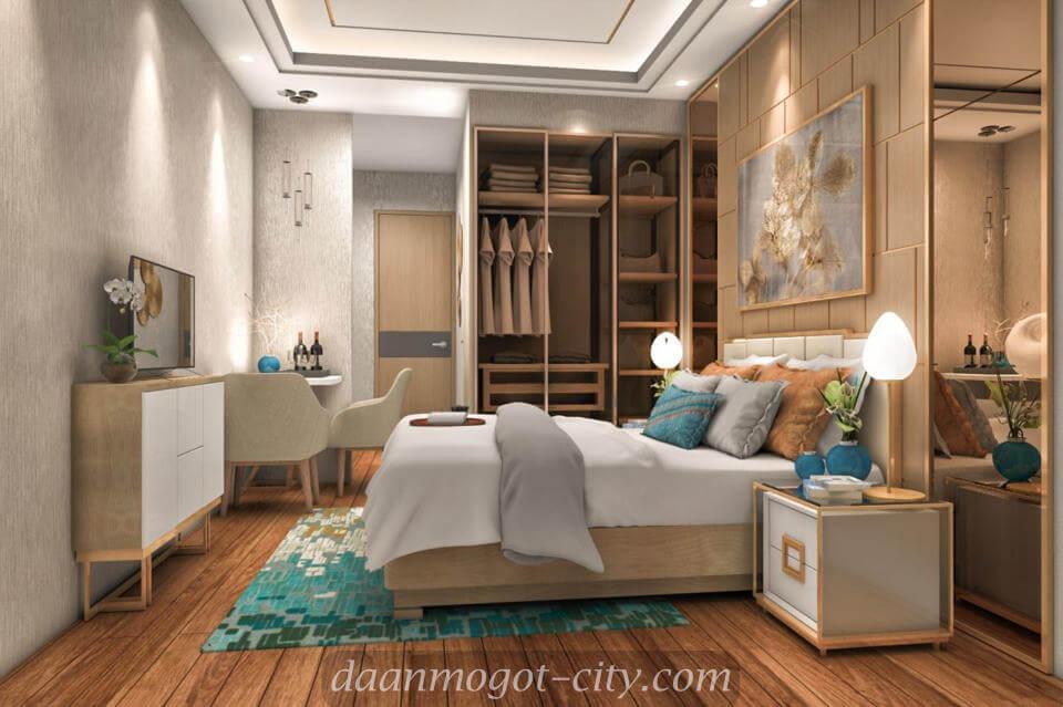 Contoh Interior Design Apartemen DAMOCI