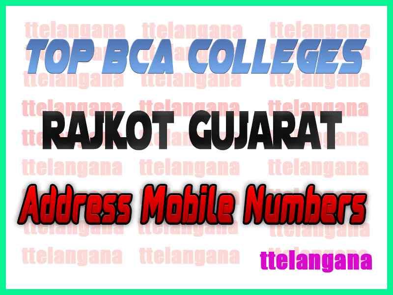 Top BCA Colleges in Rajkot Gujarat