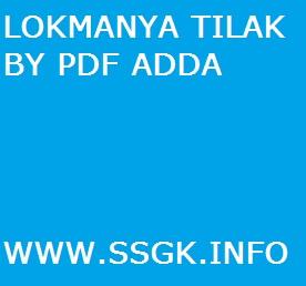 LOKMANYA TILAK BY PDF ADDA