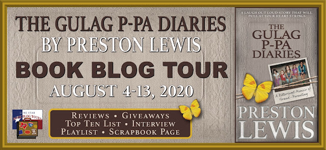 The Gulag P-Pa Diaries book blog tour promotion banner