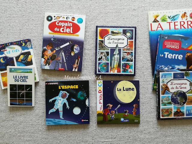 || Sélection de livres sur l'espace (Et dans leur bibliothèque il y a... # 12)