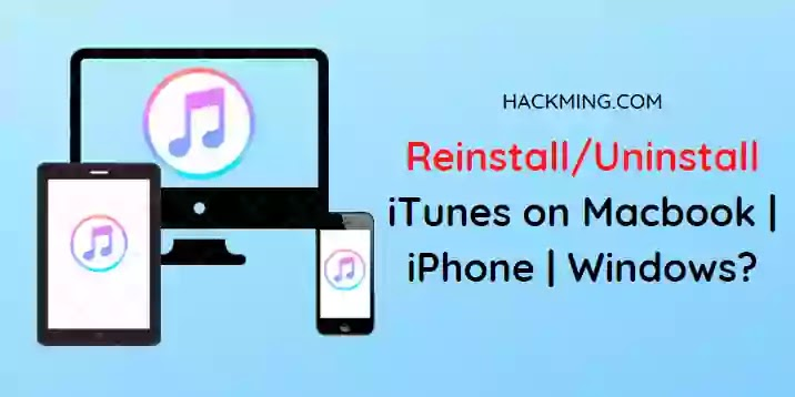 How to reinstall iTunes