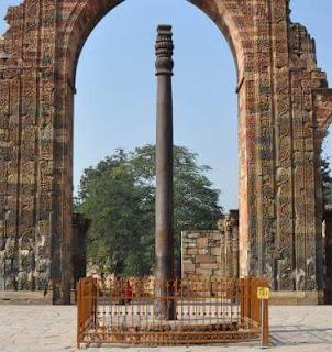 भारत के प्रसिद्ध लौह स्तम्भ