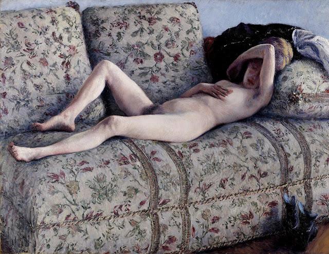 Gustave Caillebotte: Nudo sul divano