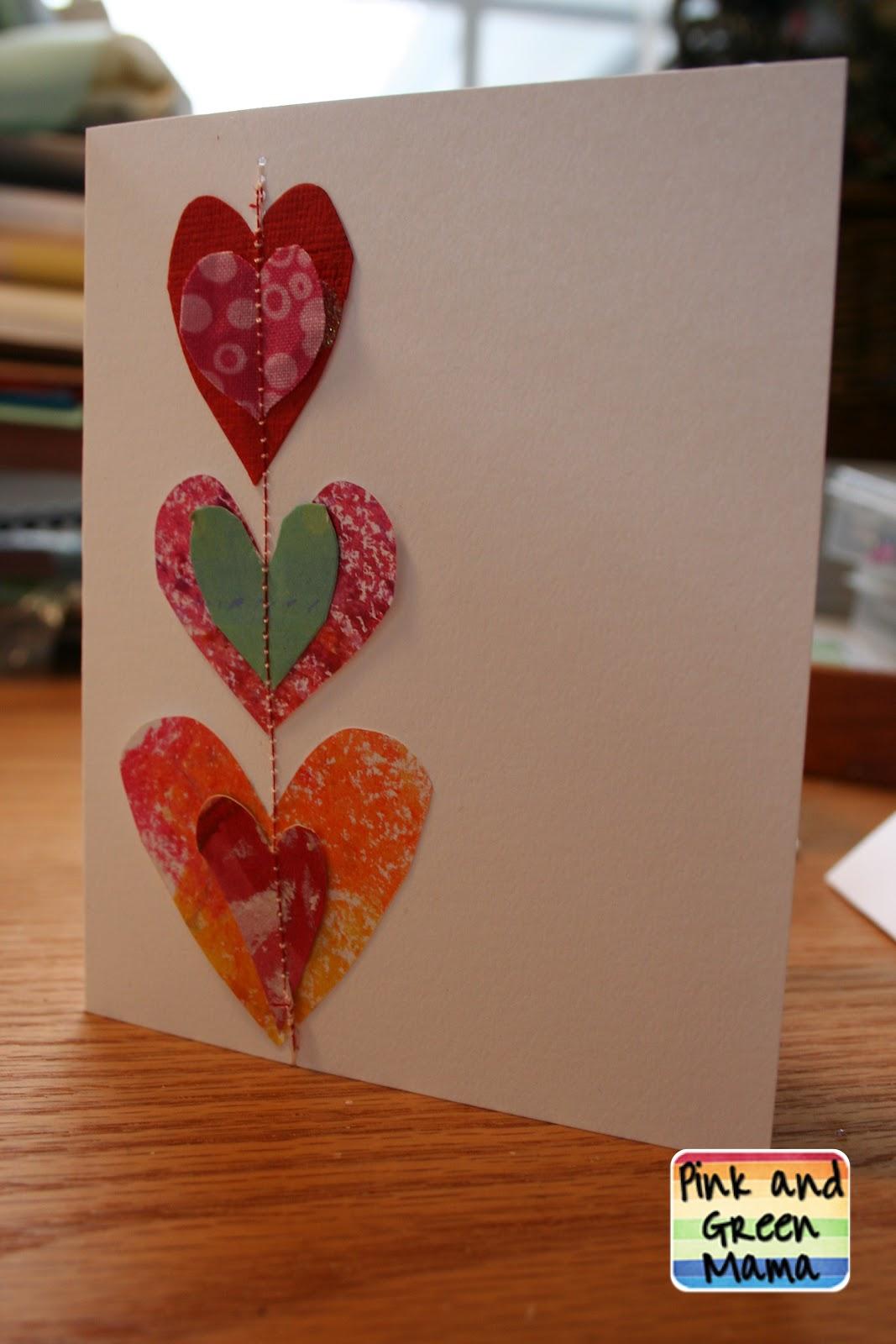 Вранье, открытка для мамы своими руками просто так