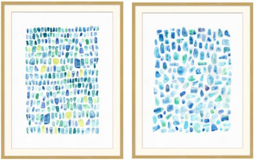 Seaglass Paintings