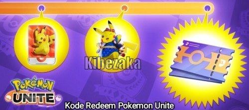 kode redeem pokemon unite undangan teman