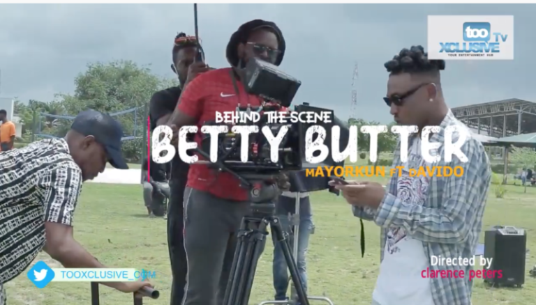 "Behind the scenes VIDEO: Mayorkun – ""Betty Butter"" ft. Davido #Arewapublisize"
