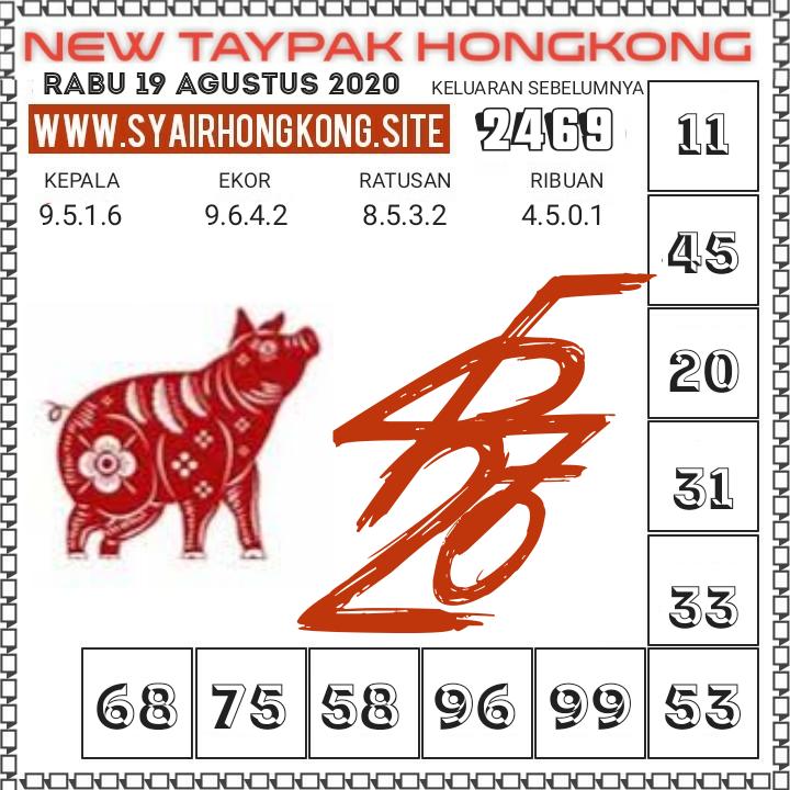 Gambar syair HK Rabu 19/08/2020
