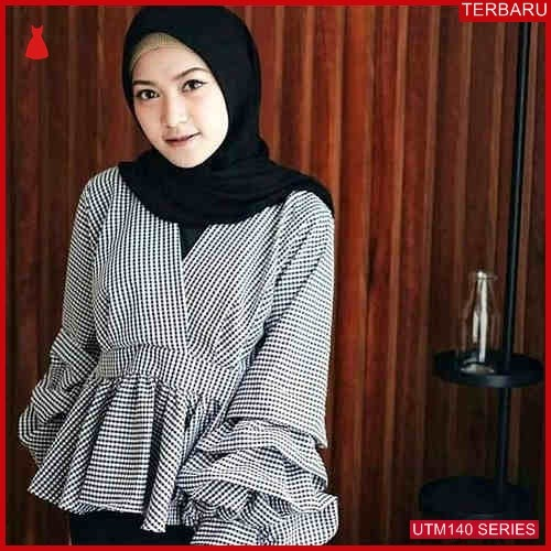 UTM140L107 Baju Listifa Muslim Atasan UTM140L107 08C | Terbaru BMGShop