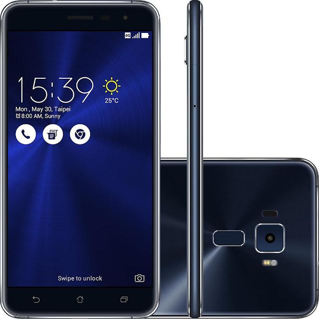 "Smartphone Asus Zenfone 3 Android 6 Tela 5.5"" Câmera 16MP"