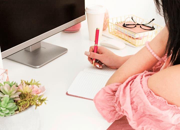 habilidades de escrita e informática