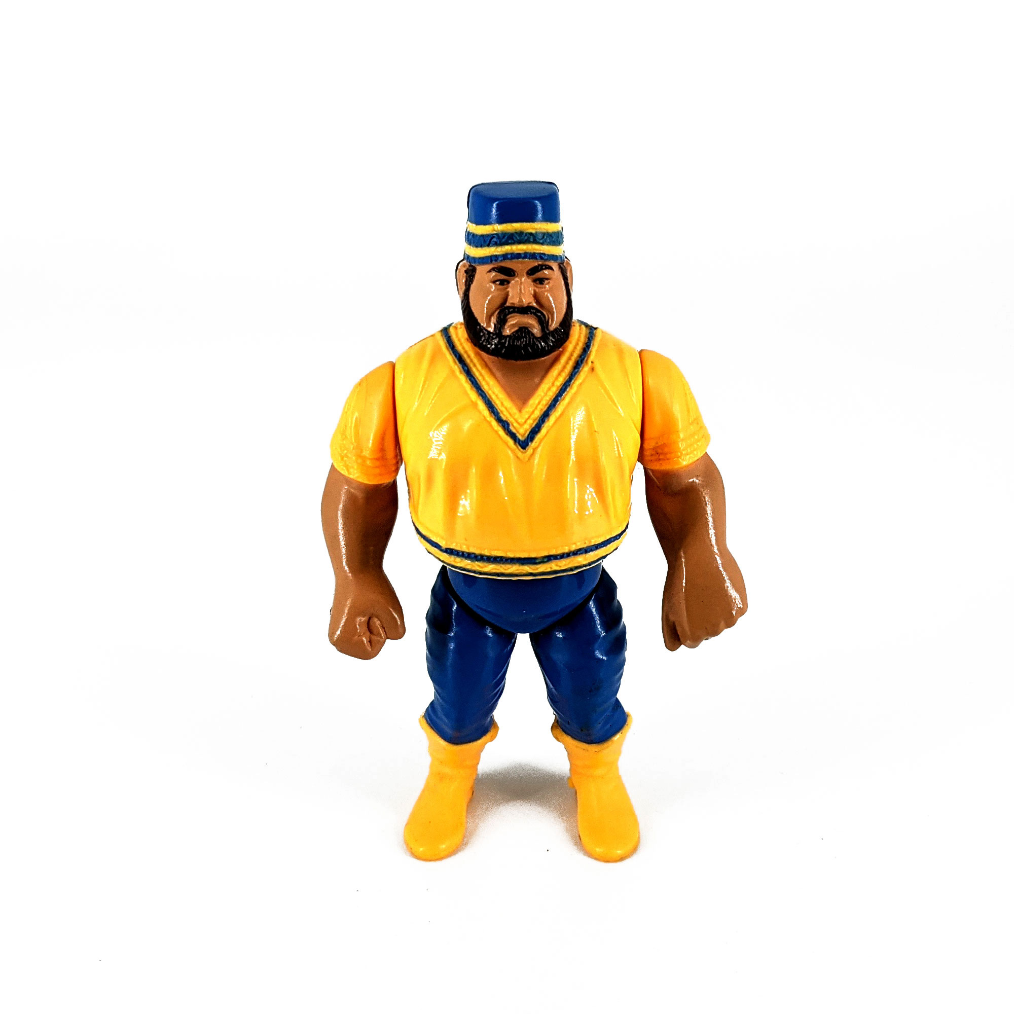 Figuras Pressing Catch WWF Akeem