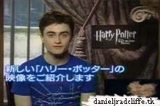 Daniel Radcliffe introduces new Japanese Half-Blood Prince trailer