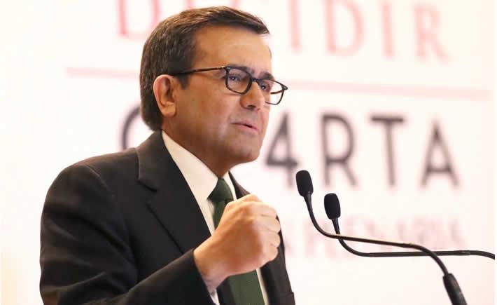 El proceso de consulta en México será coordinado por la Secretaría de Economía. (SE)