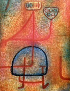 Paul Klee painting - La Belle Jardiniere