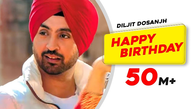 HAPPY BIRTHDAY LYRICS DISCO SINGH DILJIT DOSANJH