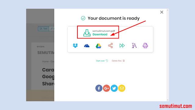 cara edit file pdf secara online