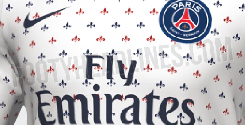 cheap for discount 962c7 1b2f5 Stunning Nike PSG 2019 Pre-Match Shirt Leaked - Leaked ...