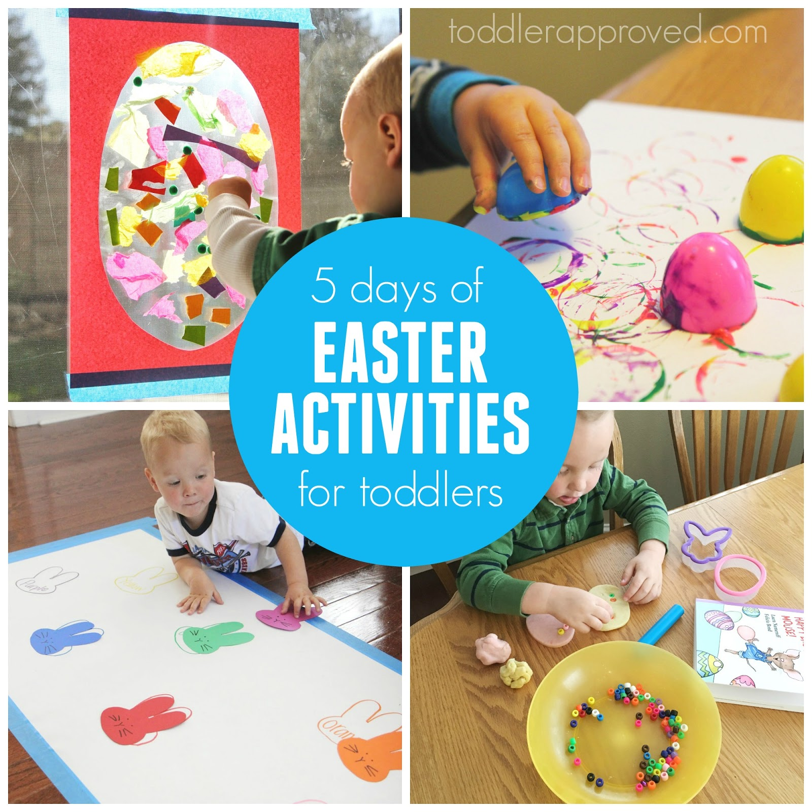 Toddler Approved!: 5 Days Of Toddler Easter Activities