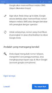 Cara Buat Email Gmail di Android