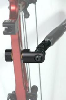 Les Stabilisations Dead Center Archery - La gamme Diamond Series Single%2Briser%2Bmount