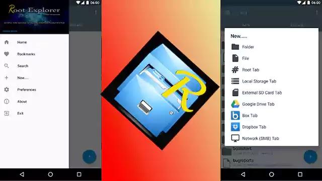 تحميل تطبيق اندرويد Root Explorer إدارة وتصفح الملفات