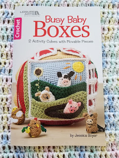 Crochet Activity boxes for baby pattern