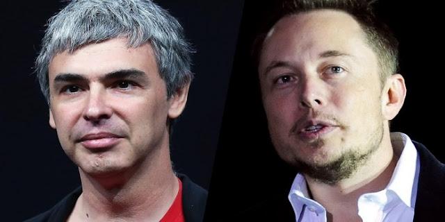 Elon Musk, Larry Page, MichellHilton.com