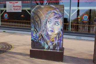 Sunday Street Art : C215 - rue Raymond Aron - Paris 13