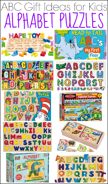 ABC Gift Ideas for Kids: Alphabet Puzzles from And Next Comes L