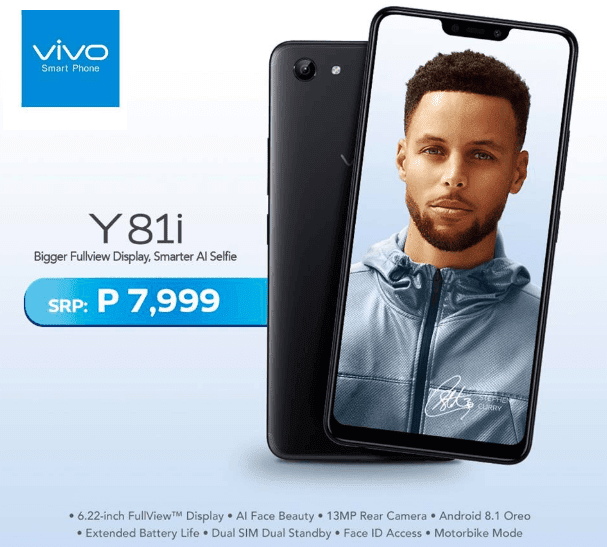Vivo Y81i Now Available in the Philippines