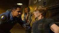 Michael Pena, Kristen Bell and Dax Shepard in CHiPs (29)