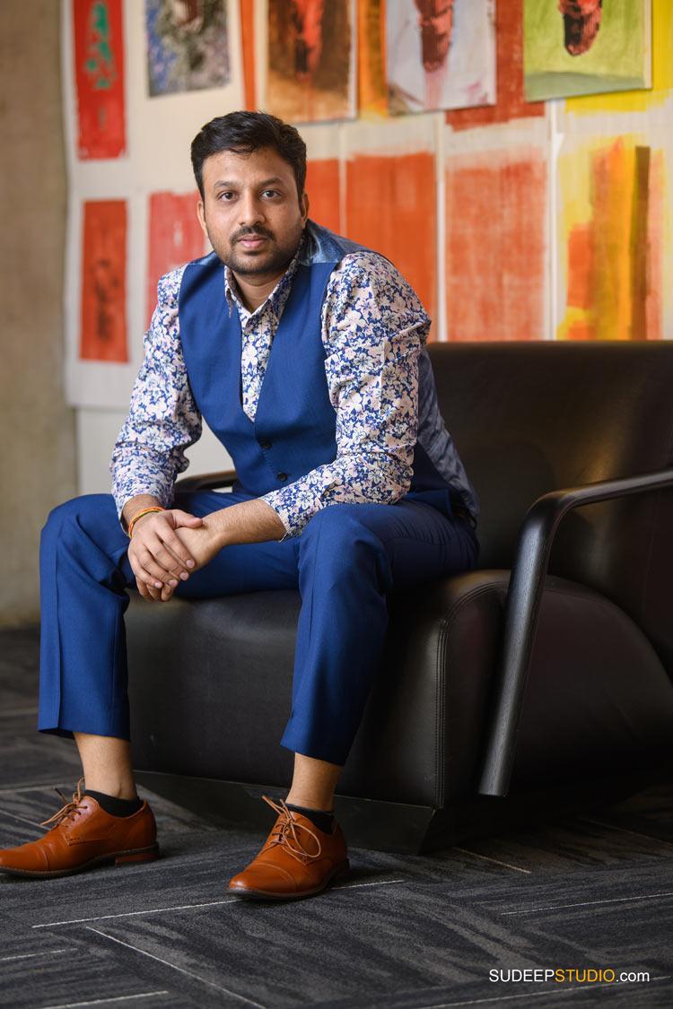 Indian Matrimonial Profile and Internet Online Dating Portraits by SudeepStudio.com Ann Arbor Portrait Photographer