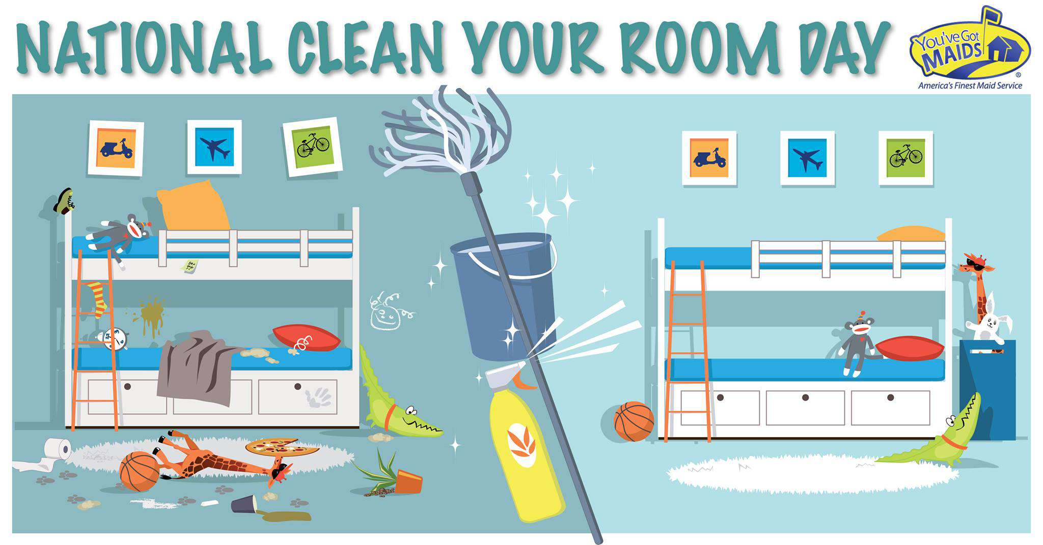 National Clean Your Room Day Wishes Awesome Picture