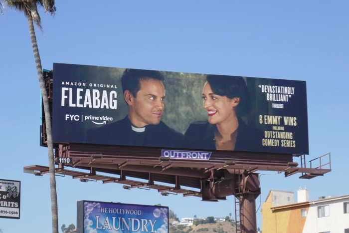 Fleabag season 2 FYC Andrew Scott billboard