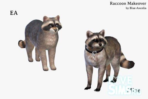 Животные на основе питомцев (кошек и собак) для The Sims 4