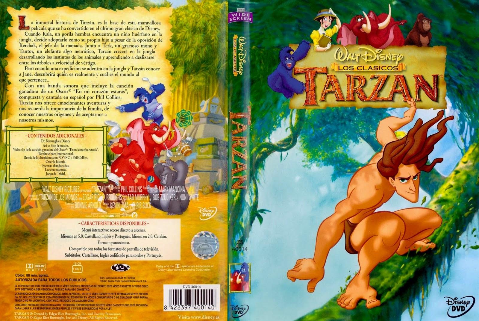 Carátula: Tarzán (1999)