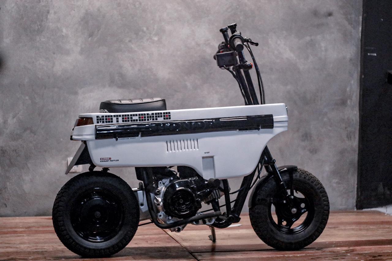 honda beat custom motocompo