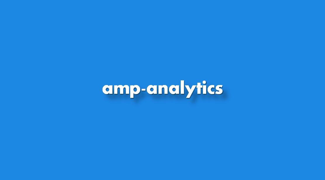 Aprender a insertar amp-analytics