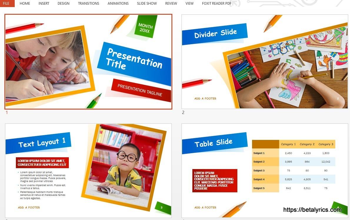 Download Gratis PPT Powepoint Pendidikan Terbaru