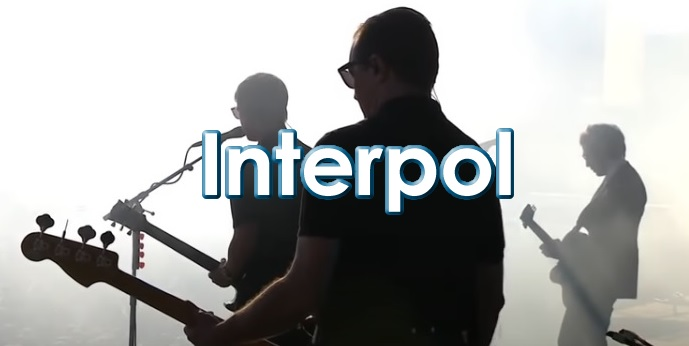 Banda Interpol en Concierto