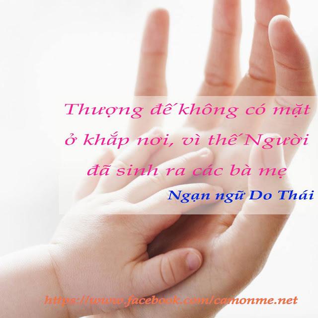 Danh ngôn về mẹ, Danh ngôn về tình mẹ hay và sâu lắng