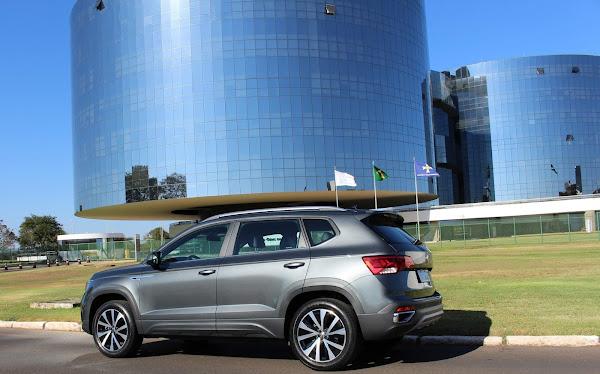 Volkswagen Taos eleito a melhor compra de 2021 pela Quatro Rodas