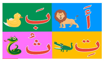 Al Abjadia : apprendre l'alphabet arabe avec les sons des lettres
