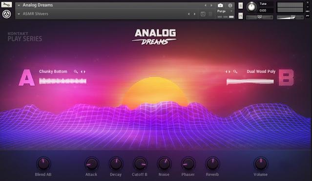 Interface Kontakt Library Native Instruments - Analog Dreams