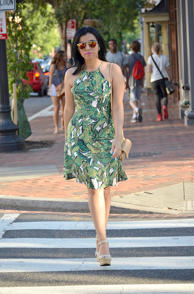 How to wear a print dress: Wearing: Dress/Vestido: SheIn Bag/Bolso: NewDress